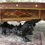 ANTIQUE BRUNSWICK MONARCH VICTORIAN POOL TABLE