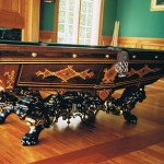 ANTIQUE BRUNSWICK MONARCH POOL TABLE